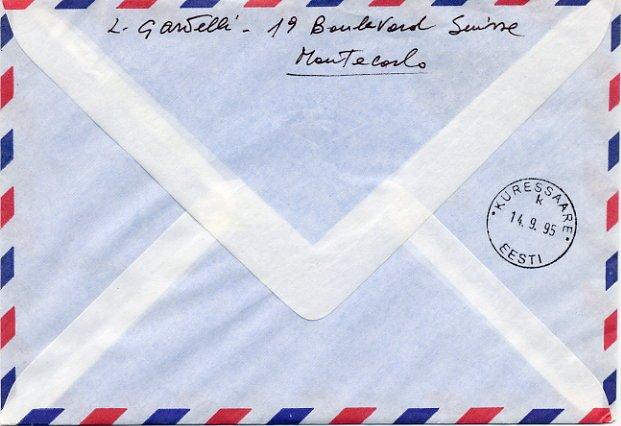 Italian Conductor LAMBERTO GARDELLI Hand Signed Envelope 1995
