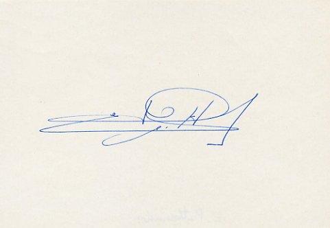1972 Munich 10000m Silver & WR EMIEL PUTTEMANS Autograph