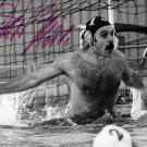 1984 Los Angeles Water Polo Bronze PETER ROHLE Hand Signed Photo