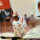 1980 Lake Placid Alpine Skiing Bronze HANS ENN Hand Signed Photo