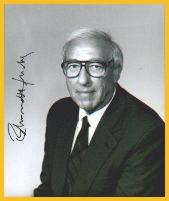 1992 Nobel Medicine EDMOND H. FISCHER Autographed Photo
