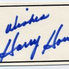 Canadian Hockey Player HARRY HOWELL Autographed Card 1978