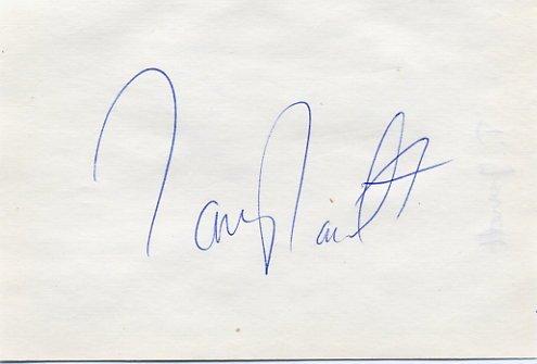 1993-95 World 110m Hurdles Silver TONY JARRETT Autograph 1995