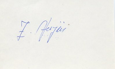 1968 Mexico City & 1972 Munich Boxing Bronze ZVONIMIR VUJIN Autograph