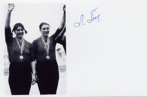 1976-1980 Rowing Silver & Gold LARISA ALEKSANDROVA-POPOVA Signed Photo