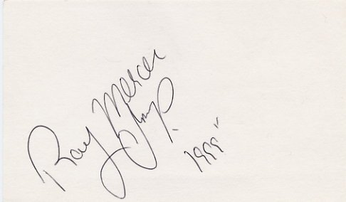 1988 Seoul Boxing Champion RAY MERCER Hand Signed Card