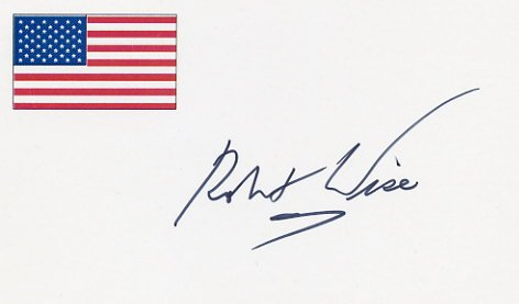 Academy Award Winning Producer & Director ROBERT WISE Hand Signed Card