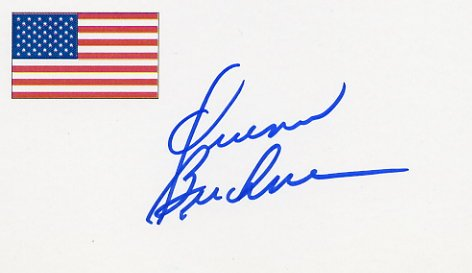 1976 Montreal Basketball Gold & NBA QUINN BUCKNER Hand Signed Card