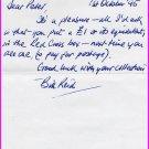 Victoria Cross WILLIAM REID Autograph Letter Signed 1995