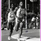 1992 Barcelona Decathlon Olympian ARIC LONG Hand Signed Photo 8x10