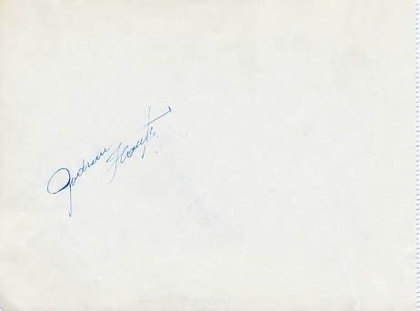 1968 Grenoble Figure Skating Olympian GUDRUN HAUSS Autograph 1968