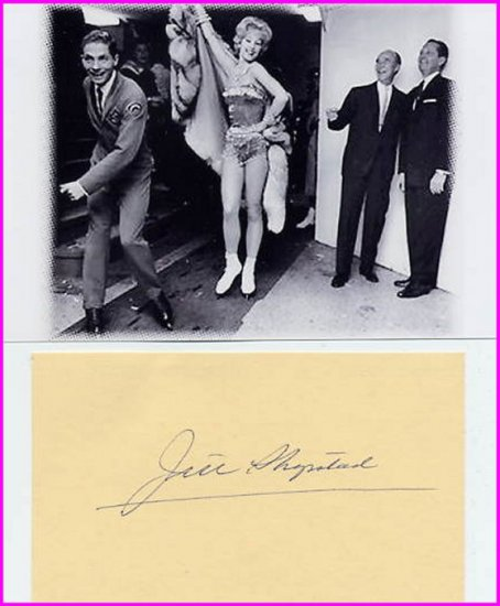 Ice Follies Skating Star JILL SHIPSTAD Autograph 1975 & Pict