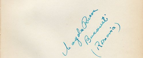 Tennis - 1948-49 World Top 10 MAGDA RURAC Autograph 1949