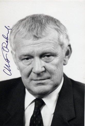1988-89 Prime Minister of Poland MIECZYSLAW RAKOWSKI Hand Signed Photo