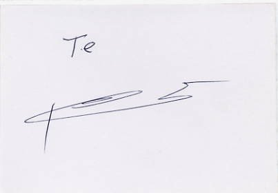 1980 Moscow Rowing Silver YELENA TERESHINA  Autographed Card 1980