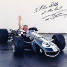 Formula 1, Indy & NASCAR Driver DAN GURNEY Hand Signed Photo 8x10