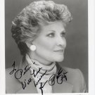 Famous American Singer PATTI PAGE Hand Signed Photo 8x10
