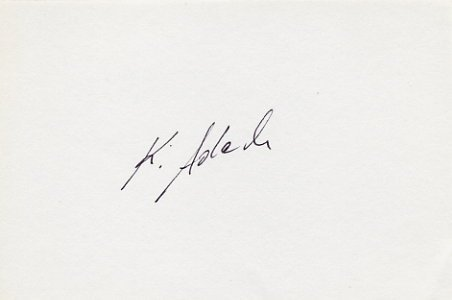 1980 Moscow Boxing Bronze KAZIMIERZ ADACH  Autograph from 1980