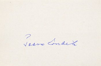 1952 Oslo Cross Country Skiing Gold PAAVO LONKILA  Autograph 1980s