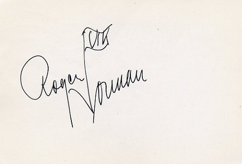 1952 Helsinki Triple Jump Olympian ROGER NORMAN Autograph