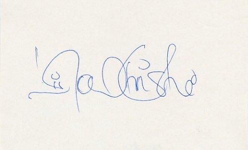 1992 Barcelona 100m Gold LINFORD CHRISTIE Autograph 1980s