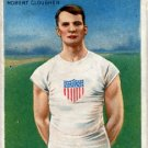 1908 London 200m Silver ROBERT CLOUGHEN Hassan Track Card 1910
