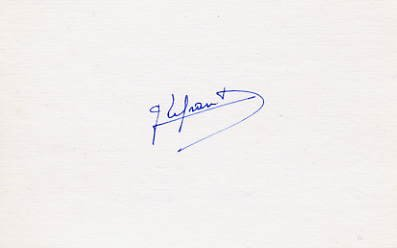 1952-64  Equestrian Three Olympic Medals GUY LEFRANT  Autograph