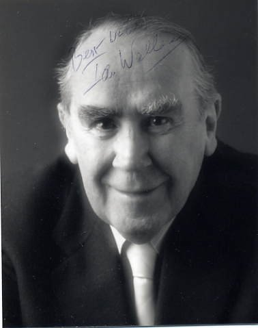 Scottish Bass-Baritone Opera Singer IAN WALLACE Hand Signed Photo