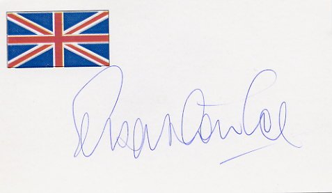 1980 Moscow & 1984 Los Angeles 1500m Gold SEB COE Autographed Card