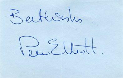 1988 Seoul 1500m  Silver PETER ELLIOTT Autograph