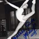 1980 Moscow Gymnastics Bronze SILVIA HINDORFF Hand Signed Photo
