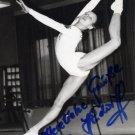 1980 Moscow Gymnastics Bronze SILVIA HINDORFF Hand Signed Photo