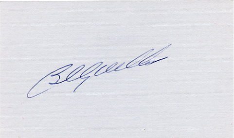 Baseball HOF Chicago Cubs BILLY WILLIAMS Autographed Card 1970s