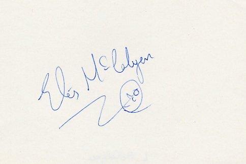 1988 Seoul 10000m  Silver LIZ Mc COLGAN Autograph