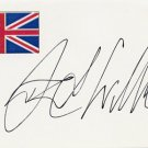 1976 Montreal Swimming Gold DAVID WILKIE Autographed Card