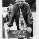 English Film Director & Producer MICHAEL WINNER  Hand Signed Photo