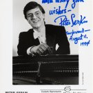 Distinguished American Pianist PETER SERKIN  Hand Signed Photo 8x10 from 1994
