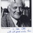 English Novelist RICHARD ADAMS Hand Signed Photo 4x6