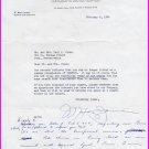 American Industrialist GENESCO - W. MAXEY JARMAN Typed Letter Signed 1964