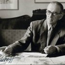 Renowned Estonian Graphic Artist GUNTHER REINDORFF Hand Signed Photo from 1968