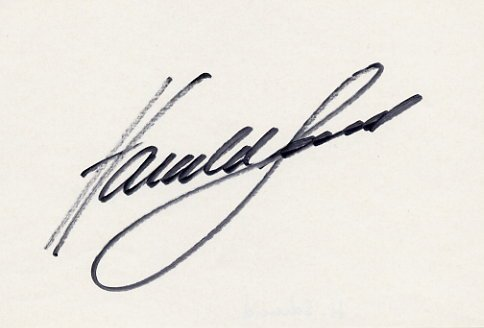 1984 Los Angeles Athletics 400m Hurdles Bronze HARALD SCHMID  Autograph