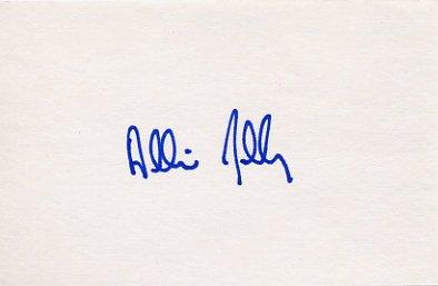 1988 Seoul Sailing Gold ALLISON JOLLY Autograph 1988