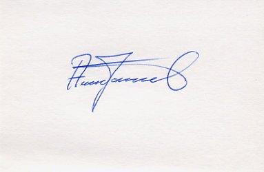 1988 Seoul Tennis Bronze ANDERS JARRYD Autograph 1988