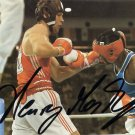 1988 Seoul Boxing Gold & IBF World Champ HENRY MASKE Hand Signed Photo 1988