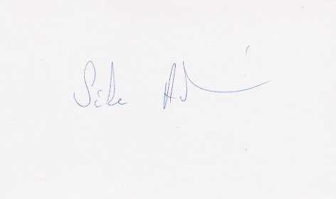 1988 Seoul Wrestling Gold ANDRAS SIKE  Autograph 1988