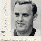 1964 Tokyo Football Bronze JURGEN NOLDNER Autographed Magazine Picture