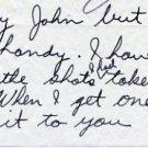 1964 Boston Marathon RON WALLINGFORD  Autograph Note Signed
