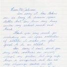 1960s Iowa State Track Star STEVEN CARSON Autograph Letter Signed 1967