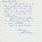 Outstanding Holy Cross Distance Runner ART DULONG Autograph Letter Signed 1967