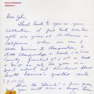 Arizona State Head Track Coach LEN MILLER Autograph Letter Signed 1980